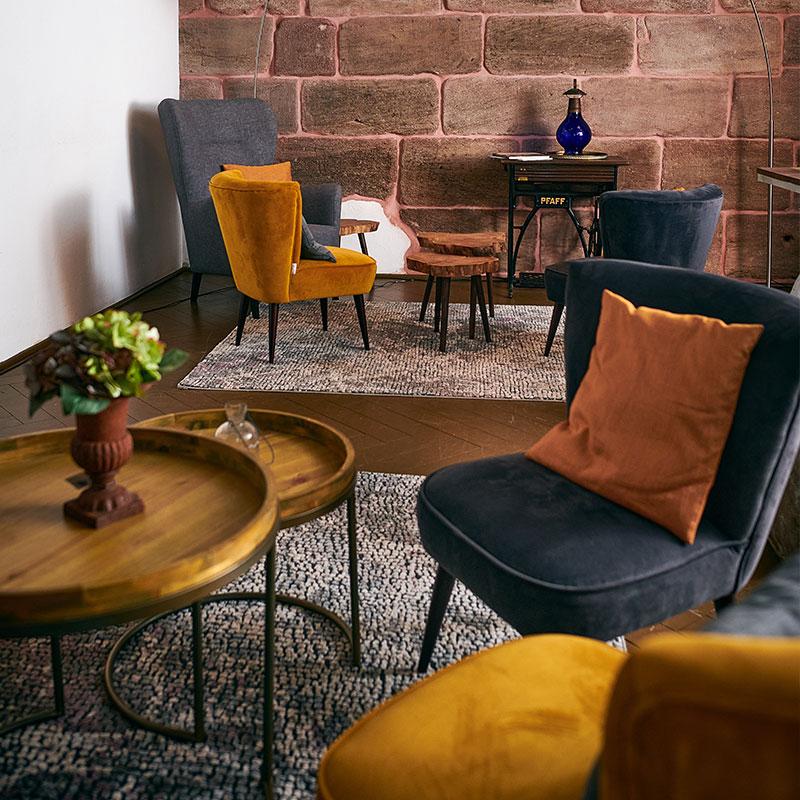 Der SCHWAN - Gäste-Lounge im Brauhaus